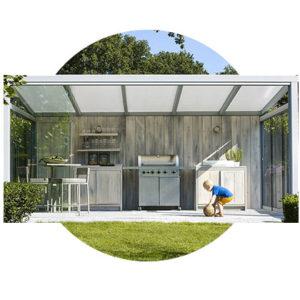 Pergoly, verandy a zimné záhrady